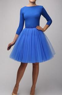 Sapphire Tulle Tutu Skirt Dress