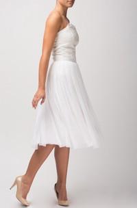 Handmade Bridal Tutu Skirt With Lace Bodice