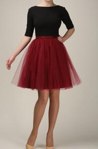 Short Burgundy Tulle Skirt Light Tulle Skirt Handmade Tutu Skirt Adult Tulle Skirt Adult Tutu Skirt Tulle Petticoat Dress