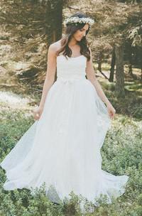Liona Wedding Bridal Gown Of Lace Vintage Boho Light Lace Wedding Dress