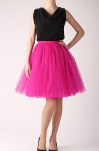 Fuchsia Tulle Tutu Skirt Dress