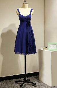 Short Royal Blue Bridesmaid Dress