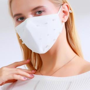 Non-Medical Pearl Wedding Face Masks